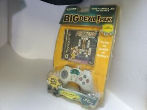 NEW DREAM GEAR BIG DEAL PAK PLAYSTATION 1 CONTROLLER & PUZZNIC GAME  #M24
