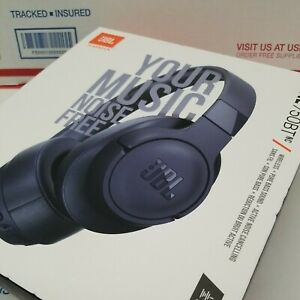 JBL by HARMAN - Active Noise Canceling Wireless Over-Ear Headset -Blue Pure Bass