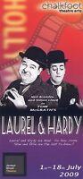 LAUREL & HARDY Theatre Flyer 2009 Handbill