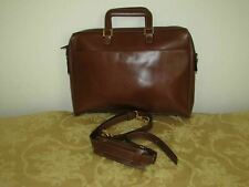 GoldPfeil Gold Pfeil  brown leather briefcase style bag unisex Germany