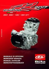 Beta Engine Service Workshop Manual 2017 430 Enduro RR EFI