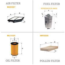 WIX DE AIRE Y DE POLEN ACEITE Y COMBUSTIBLE Kit Servicio De Filtro WA9587,WP9206