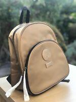 VERSACE Gold Luxury Backpack Rucksack Travel Bag FREE DELIVERY 100% Genuine 🆕