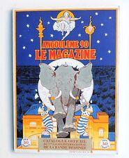 Catalogue Angoulême 1990. Le Magazine. BILAL, JACOBS, SCHUITEN, POIVET...