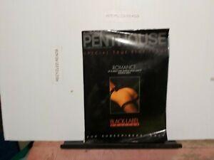 Australian penthouse black label Jan .88 special true blue issue