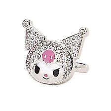 SANRIO - KUROMI  ADJUSTABLE LADIES RING - boxed - Hello Kitty sz 5 - 7-1/2