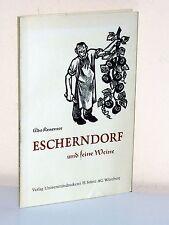 ADO Kraemer: escherndorf and its wines (Volkach/Würzburg/Kitzingen)