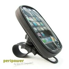 PeriPower Water Resistant Bag with Bike Mount Holder Universal for Smartphones