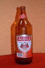 Antigua Botella de cerveza de 1L (100CL)  ÁGUILA PIELSEN  (litrona AÑOS 80)
