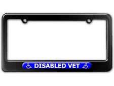 Disabled Vet - Handicapped Veteran License Plate Tag Frame