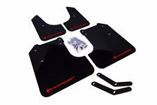 Rally Armor Black Mud Flap w/ Red Logo For 08-10 WRX (hatch & sedan) / 08-11 2.5