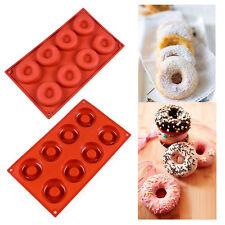 Silicone Donut Doughnut Candy Cake Pan Chocolate Cupcake Baking Mold Bakeware