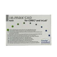 IVOCLAR VIVADENT IPS E.MAX CAD CEREC MT A3 / C14 5 BLOCKS EMAX