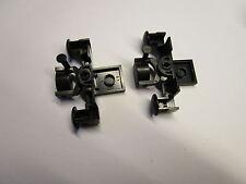 Lego  12 V Eisenbahn: 2 Kupplungen Puffer mit langem Pin 7740 7750 7730