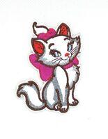 ARISTOCATS Iron On Patch NIP New APPLIQUE Marie DISNEY Cat KITTEN Kitty 175