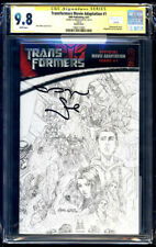 Transformers Movie Adaptation #1 Sketch SS CGC 9.8 Megan Fox Signature Series