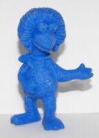 Blue Fraggle Rock Muppet Figurine 2 inch plastic Fraggles Figure FRA004