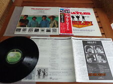 "THE BEATLES ""HELP"" - LP JAPAN + OBI + INSERTS - EAS 80567"