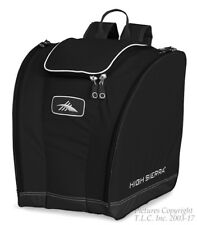 NEW 3 Compartment High Sierra Black Trapezoid Snowboard or Ski Boot Bag/Backpack