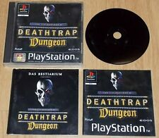 DEATHTRAP DUNGEON EIDOS PAL ps1 PSX PLAYSTATION 1 GIOCO GAME anche ps2 ps3 PSONE