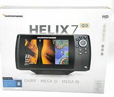 Humminbird HELIX 7 Fishfinder 410950-1NAV, CHIRP MSI GPS G3 with Navionics + Ca