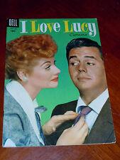 I LOVE LUCY #6 (DELL 1955)  FINE+ (6.5) TV PHOTO COVER