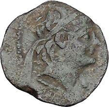 ALEXANDER II Zabinas 128BC Antioch SELEUKID Dionysus Ancient Greek Coin i47134
