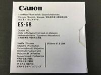 Canon Lens Hood ES-68 L-HOODES68 0575C001AA EF 50mm F1.8 STM from JAPAN