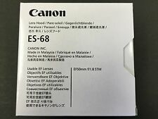 New Canon Lens Hood ES-68 L-HOODES68 0575C001AA EF 50mm F1.8 STM from JAPAN
