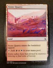1x Stone Quarry Amonkhet 2017 Mtg Magic Gathering Card Dual Land White Red 274