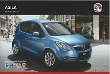 VAUXHALL AGILA 2014 MODELS BROCHURE EDITION No2 VM1310830 01.14 (UK)