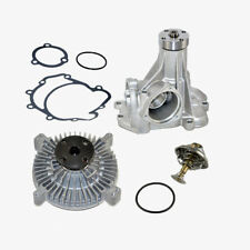 Water Pump + Fan Clutch + Thermostat Kit Mercedes 420SEL 560SEC 560SEL 560SL 3pc