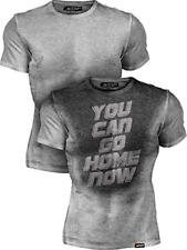 Actizio Sweat Activated Funny Motivational Workout Shirt, You Can Go Home Now
