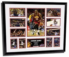 LEBRON JAMES CLEVELAND CAVALIERS 2017 SIGNED LIMITED EDITION FRAMED MEMORABILIA