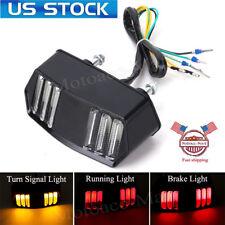 LED Tail Brake Turn Signals Light For Honda Grom MSX 125 CBR650F CTX700 CTX700N