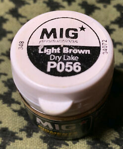 DRY LAKE LIGHT BROWN P056 Mig Productions Pigments -SEALED FREE USA SHIPPING