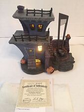 2005 Hawthorne Village Nightmare Before Christmas Guillotine House & Cyclops