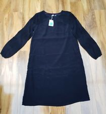 BODEN LADIES GORGEOUS Black long sleeved DRESS. WO037 UK size 10L. Brand new.