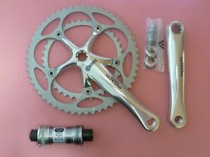 Shimano 6500 / 9 Sp.Ultegra bicycle chainset 172 39.53 / 55 68-109 bb set/ NOS