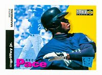 Ken Griffey Jr. #26 (1994 Collector's Choice) Record Pace, Seattle Mariners, HOF