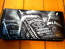 JACK DANIELS ROLLING TOBACCO POUCH CASE WALLET OLD NO 7 WHISKY BOTTLE USA