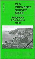 MAP OF BALLYCASTLE & RATHLIN ISLAND 1900