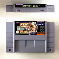 Harvest Moon New Game Card For Nintendo SNES US Version 16 Bit English