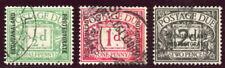 Bechuanaland 1926 KGV Postage Due set complete VF used. SG D1-D3. Sc J1-J3.