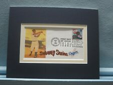 Dodgers Win the 1955 World Series & First Day Cover of the Subway Series stamp