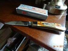 CASE XX LIMITED EDITION TRIBAL LOCK BONE STAG 6.5 MODEL CA-65312 STAINLESS SPEAR