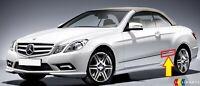 Neuf Véritable Mercedes Benz Classe E W207 Aile Arrière Chrome Moulure Bord Left