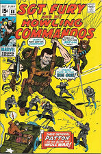 Sgt. Fury and His Howling Commandos Comic Book #88 Marvel 1971 VERY FINE-