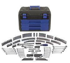 NEW Kobalt 227-Piece SAE Metric Mechanic's Tool Set + Hard Case! Socket Storage
