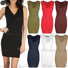 Polyester Cowl Neck Party Dresses